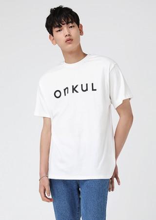 온쿨 레터링 티셔츠